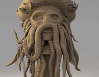 3D Davy Jones
