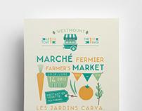 L'Autre Choix - Farmer's market flyer