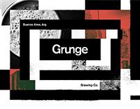 Grunge Brewing Co. Identity