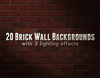 20 Brick Wall Backgrounds