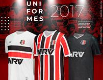 Uniformes 2017 Cobra Coral - Santa Cruz FC