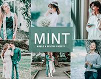 Free Mint Mobile & Desktop Lightroom Presets