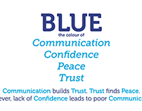 BLUE -communication-