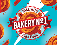 BAKERY №1 brand of e-liquid for vape products