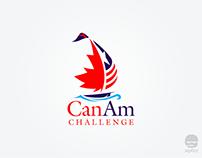 CanAm challenge logo design