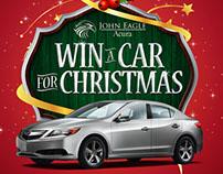 John Eagle Acura - Win A Car For Christmas