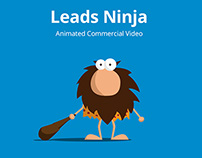 Animated commercial for Leads Ninja