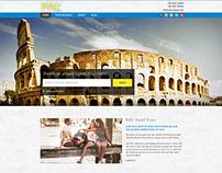 Travel Responsive Website Design