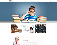 Children Academy Website Design
