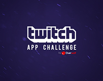 Twitch App Challenge Landing Page