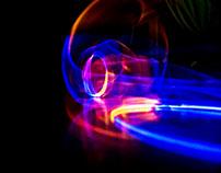 moving luminous bars