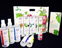 Organic personal skincare packs