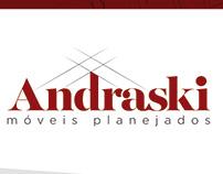 Identidade visual - Andraski | Móveis planejados
