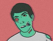 Me Zombie - Ilustração Experimental
