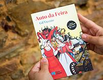 """Editorial - """"Auto da Feira"""" book - Porto Editora"""