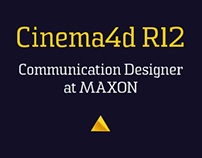 CINEMA 4D Release 12