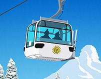 Snowbasin Ski Resort Poster