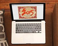 Graphics/Ani | 2015 Goat year animation card
