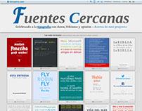 Fuentes Cercanas - web del proyecto