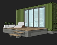 Container House - 8'x20' unit