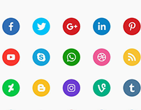 30+ Useful Social Media Icons for Designers