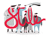 """Stile"" Illustration for ""Italianism"" conference"