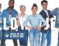 Ripley - Campaña Jeans 2016