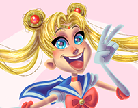 Sailor Moon Redesign Character