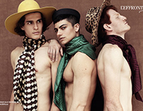 """Mad hatters"" editorial for L'effronte journal"