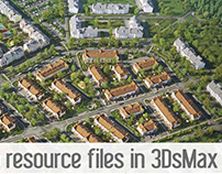How to resource files in 3dsMax.