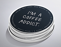 Dose Dealer de Café | Sticker