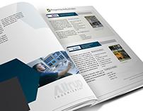 Brochure editorial Altrup Ingeniería