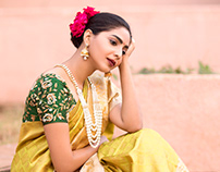 Kankatala Silks Web Campaign '17