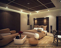 Master Bed Room Interior Design 01