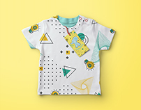 Creating a picture for children's clothes