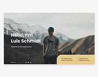 Personal Website Concept