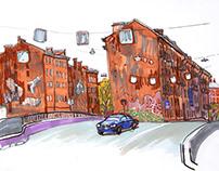 Saint-Petersburg, sketches