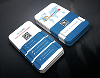 Professional Business card (Free mockup)