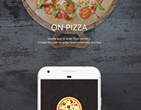 ON PIZZA Mobile App