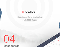Glade - Responsive Admin Template
