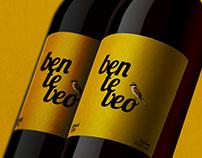 Benteveo Wine Label