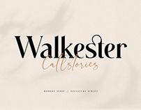 Walkester Font Duo