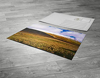 Postcard - Mockup - (Art Works) - Graphic Design