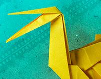 Afiche Origami