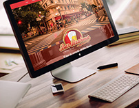 Wix Website (Bar Brahma Centro)
