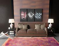 Living Room In Abu Dhabi | Interior Design