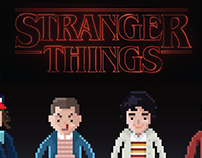 Stranger Things Pixels
