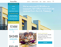 Fannie Mae Website Concept Designs