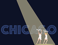 Chicago Musical Movie Poster Minimalistic