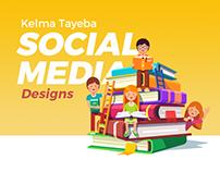 Kelma Tayeba - Social Media